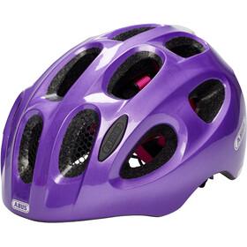 ABUS Youn-I Kask rowerowy Dzieci, sparkling purple